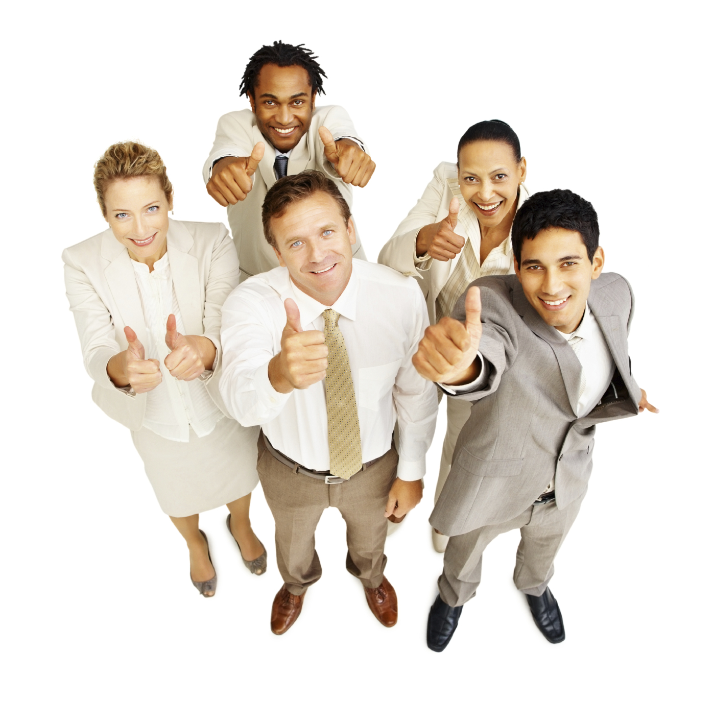 Business People Thumbs Up | The Vine Events