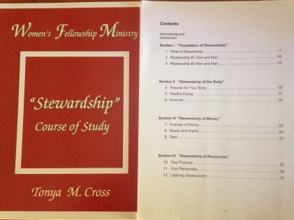Stewardship Course of Study