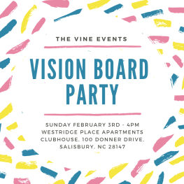 The Vine Events - Vision Board Party 2019