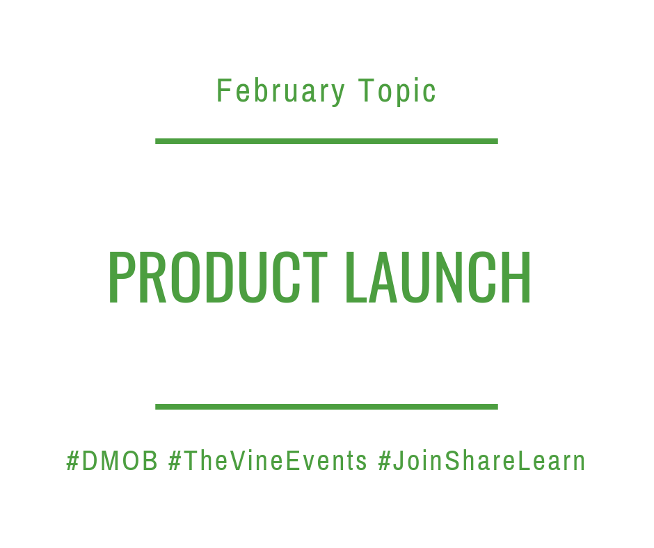 The Vine Events - Product Launch